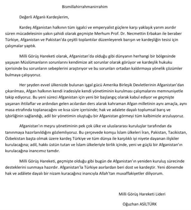 Saadet Partisi'nde krizi tırmandıracak unvan! Oğuzhan Asiltürk kendisi için 'Milli Görüş' lideri yazdı