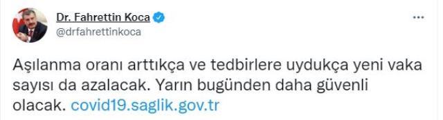 Son Dakika: Türkiye'de 18 Ağustos günü koronavirüs nedeniyle 168 kişi vefat etti, 19 bin 944 yeni vaka tespit edildi