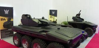 Kuzey Avrupa: IDEF'te yerli elektrikli insansız kara aracı Alkar R8 görücüye çıktı