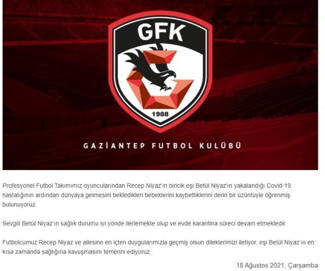 Recep Niyaz'ın en acı günü! Genç futbolcu evladını kaybetti