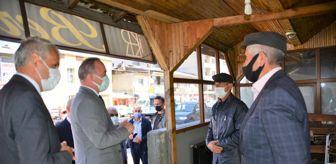 Haluk Koç: Kovid-19 vaka sayısının arttığı Ardahan'da Vali Hüseyin Öner, ilçede denetim yaptı