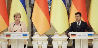 Normandiya: Son dakika haberi | Almanya Başbakanı Merkel ve Ukrayna Devlet Başkanı Zelenskiy, Kiev'de görüştü