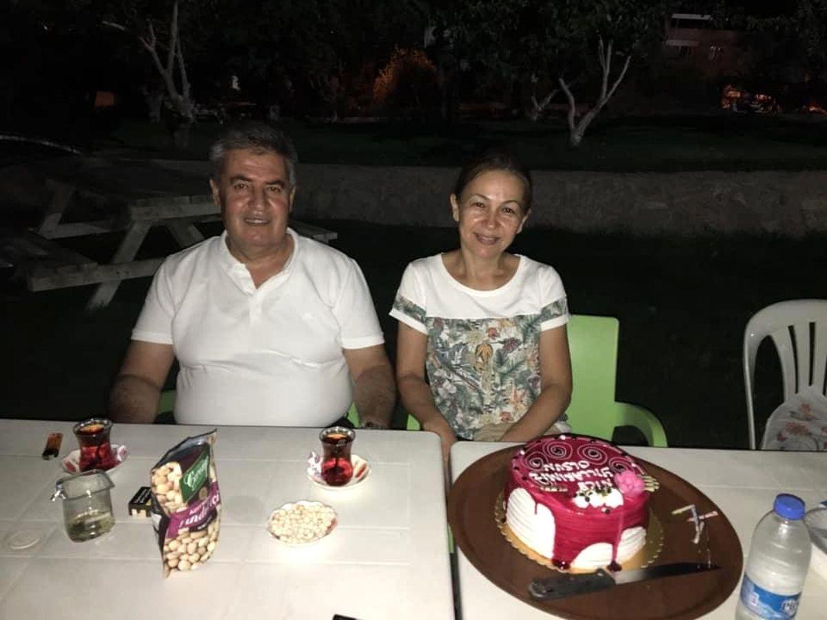 Başkan Erol, hafta sonunu eşine ayırdı