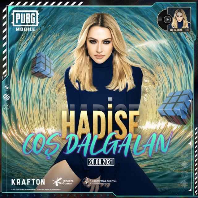 Hadise, PUBG Mobile'a özel şarkı yaptı