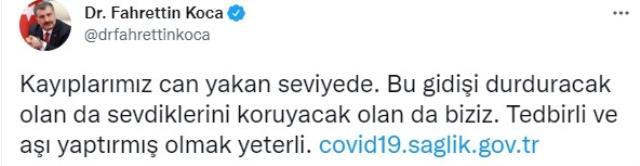 Son Dakika: Türkiye'de 23 Ağustos günü koronavirüs nedeniyle 232 kişi vefat etti, 18 bin 857 yeni vaka tespit edildi