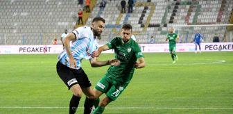 Ahmet Canbaz: TFF 1. Lig: BB Erzurumspor: 2 Bursaspor: 1