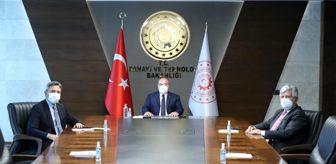 Kemalettin Aydın: Son dakika haberleri: Ahmet Aydın, Sanayi ve Teknoloji Bakanı Varank'la görüştü