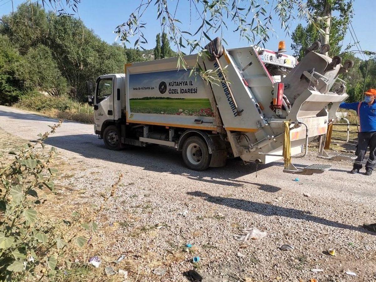 Kütahya İl Özel İdaresi'nden 546 köye çöp toplama hizmeti