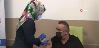 Erciyes: Son dakika haberleri: Türkovac Kayseri Şehir Hastanesi'nde gönüllülere uygulandı