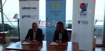 2020 Tokyo Olimpiyatları: Arkas Holding, 2024 Paris Olimpiyatları için Türkiye Yelken Federasyonuna lojistik desteği verecek