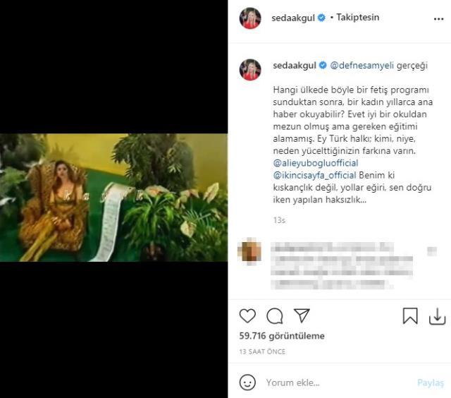 Defne Samyeli'nin yıllar önceki kırbaçlı şovunu paylaşan Seda Akgül'den çok konuşulacak sözler: Kimi yücelttiğinizin farkına varın