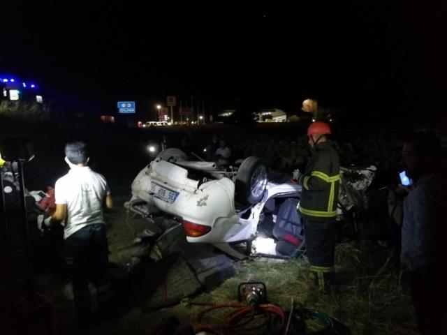 Manisa'da yolcu otobüsü şarampole yuvarlandı! Çok sayıda ölü ve yaralı var