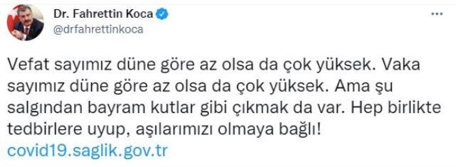 Son Dakika: Türkiye'de 27 Ağustos günü koronavirüs nedeniyle 244 vefat etti, 18 bin 340 yeni vaka tespit edildi