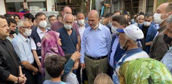 Yasin Erdem: Son dakika haber: Bakan Soylu, selin en çok etkilediği Zafer köyünde