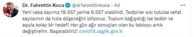 Son Dakika: Türkiye'de 30 Ağustos günü koronavirüs nedeniyle 245 kişi vefat etti, 19 bin 557 yeni vaka tespit edildi
