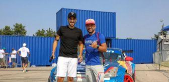 Doğukan Manço: Ünlü oyuncu Ümit Erdim Red Bull sporcusu Abdo Feghali ile drift yaptı