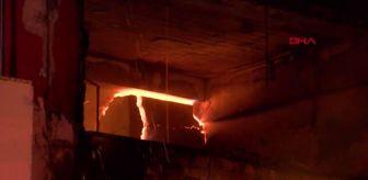 Patlama: İKİTELLİ ÇEVRE SANAYİ SİTESİ'NDE YANGIN; 1 YARALI - 5