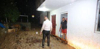 Arsin: Trabzon'da şiddetli yağış Yomra ilçesinde su baskınlarına neden oldu
