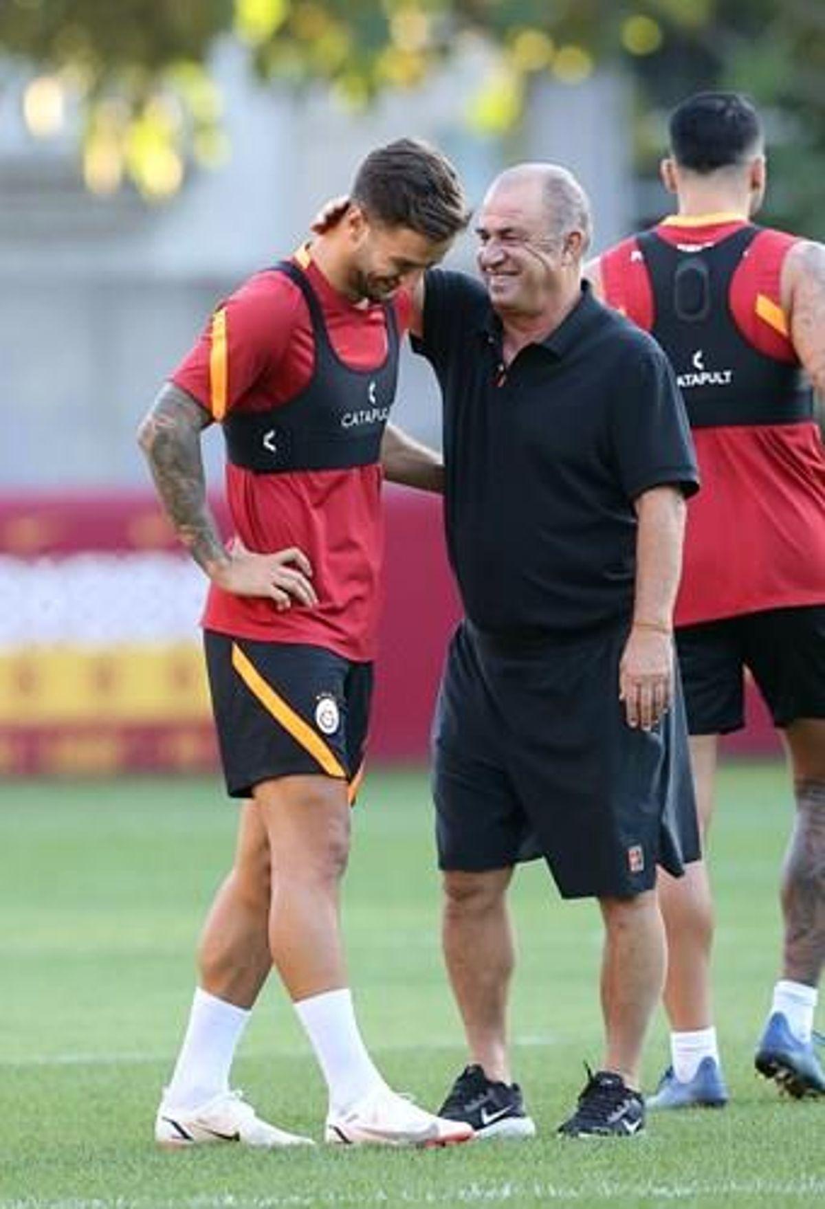 Galatasaray, Trabzonspor maçının hazırlıklarına başladı