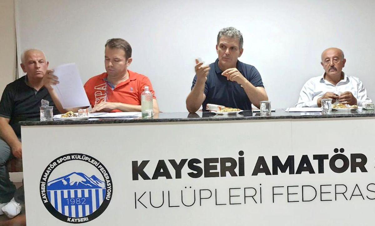 Kayseri ASKF bilgilendirme toplantısı yaptı
