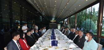 Ayrancı: Mardin'e atanan Ayrancı Kaymakamı Çakır onuruna veda yemeği düzenlendi