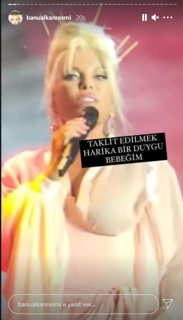 Tartışmasının fitilini ateşleyen Banu Alkan, Ajda Pekkan ve Kylie jenner'ı kendisini taklit etmekle suçladı