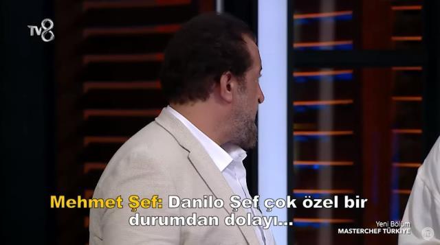 Danilo Zanna, MasterChef'in çekimlerini yarıda bırakarak gitti! İlk açıklama Mehmet Yalçınkaya'dan geldi