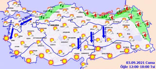 Meteoroloji'den bugün için 23 kente uyarı! Metrekareye 100 kilogram yağış bekleniyor