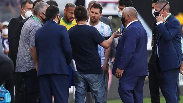 Brezilya-Arjantin maçında yaşanan tarihi kriz sonrası Messi ateş püskürdü: Burası sirk