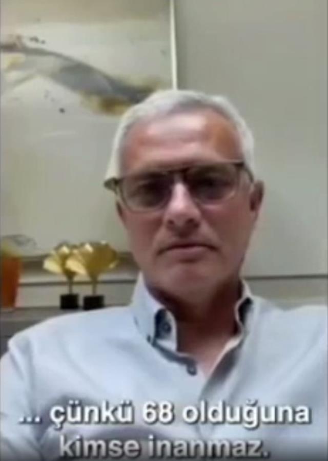 Dünyanın en ünlü hocalarından Fatih Terim'e yaş günü mesajı! Mourinho, kahkahaya boğdu