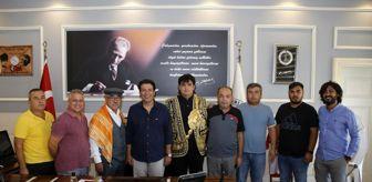 Turgay Genç: Elmalı güreş ağasının ilk ziyareti Başkan Genç'e oldu
