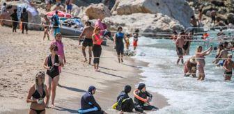 Olimpos: Suluada plajları doldu