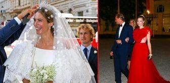 Avusturya: Yılın düğünü: Gelin ayrı, davetliler ayrı ışıldadı