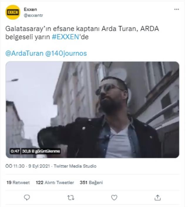 Arda Turan'ın belgeselini yapan Acun Ilıcalı'nın platformu Exxen'e tepki yağıyor
