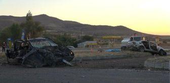 Karakeçili: Son dakika haberleri... Kırıkkale'de iki otomobil çarpıştı: 6 ölü (3)- Yeniden