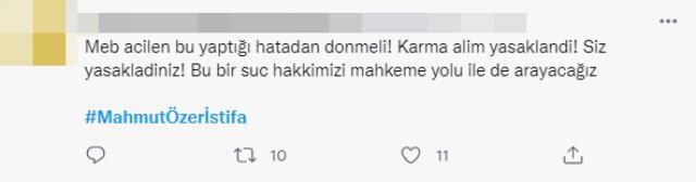 Milli Eğitim Bakanı Mahmut Özer'e 'İstifa et' çağrısı! 15 bin öğretmen atama takvimindeki detaya tepkiler çığ gibi