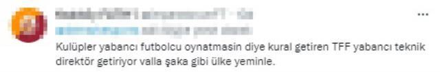 Süper Lig'de yabancıyı sınırlayan TFF'den çok tartışılacak karar! Yeni hoca Türk olmayacak