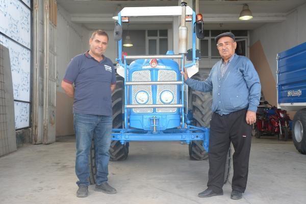 12 bin liraya aldı, 120 bin lira masraf yaptı! Babasının ihtiyaçtan sattığı traktörü 35 yıl sonra geri aldı