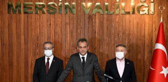 Özer Özel: Milli Eğitim Bakanı Özer, 'Mersin İl Eğitim Değerlendirme Toplantısı'nın ardından açıklama yaptı