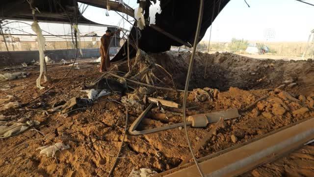 İsrail savaş uçakları Gazze'de çeşitli noktalara hava saldırısı düzenledi