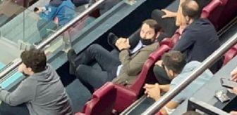 Berat Albayrak: Berat Albayrak, Trabzonspor-Galatasaray maçını locadan izledi