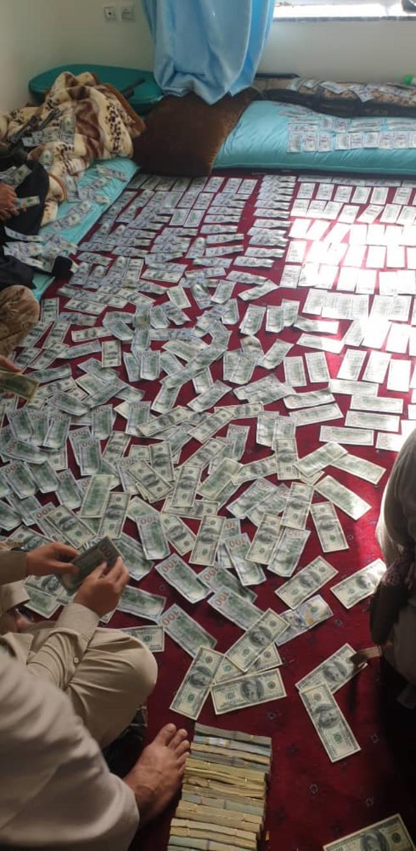 Eski Afganistan Cumhurbaşkanı yardımcısının evinde yüksek miktarda para bulundu iddiası