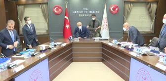 Tasarruf Mevduatı Sigorta Fonu: Son dakika haberleri... Finansal İstikrar Komitesi, Bakan Elvan Başkanlığında toplandı