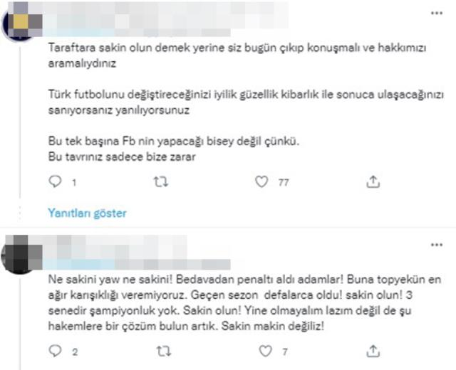 Kadıköy'de kaos akşamı! Taraftarlar, Ali Koç ve yönetimi yuhaladı