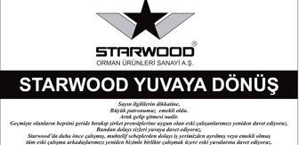 Hüseyin Yıldız: Starwood'dan 'Büyük patron emekli oldu, yuvaya dönebilirsiniz' ilanı