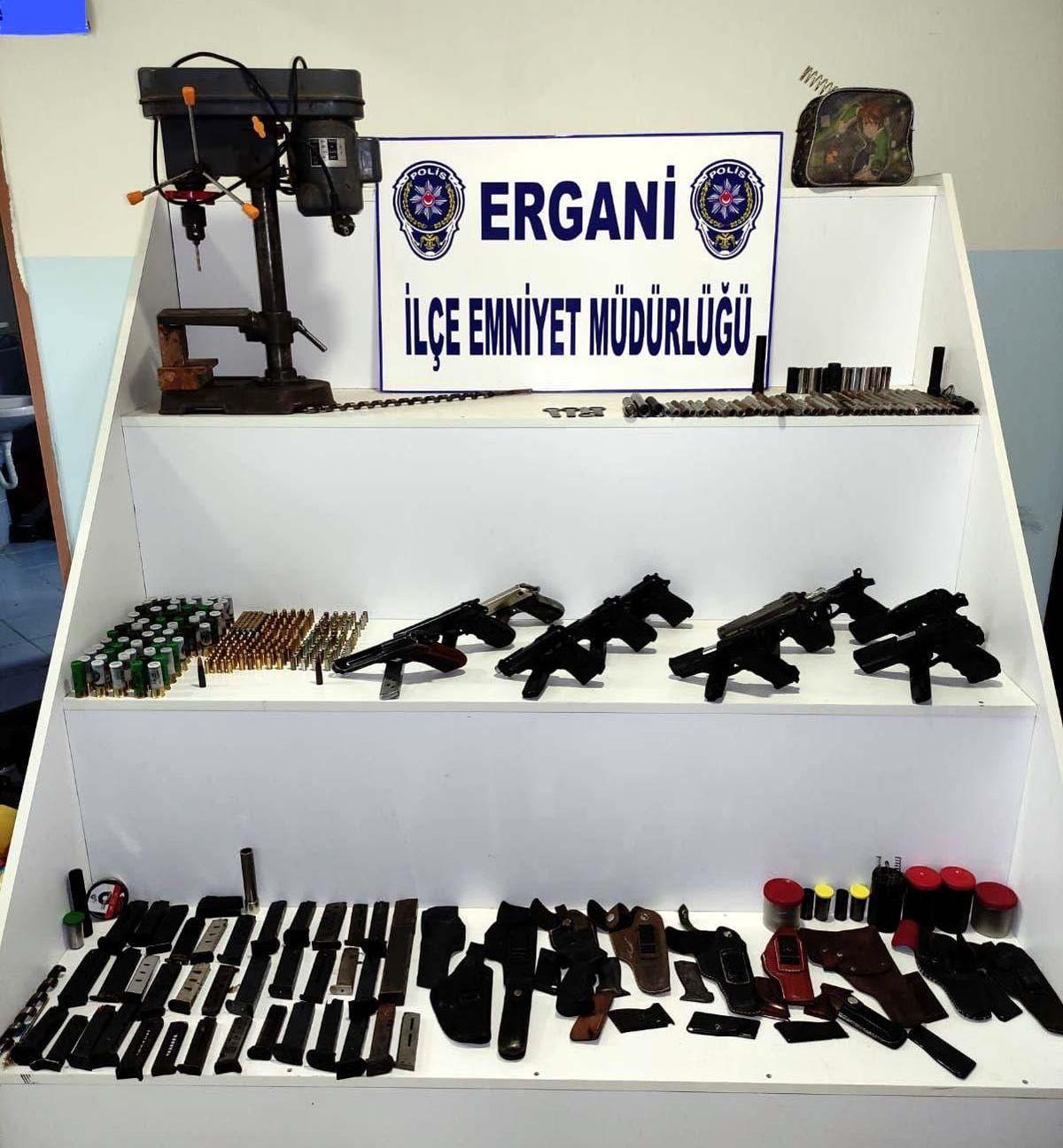 Diyarbakır'da silah imalatı ve ticaretine yönelik operasyonda 1 tutuklama