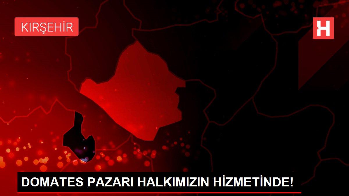DOMATES PAZARI HALKIMIZIN HİZMETİNDE!
