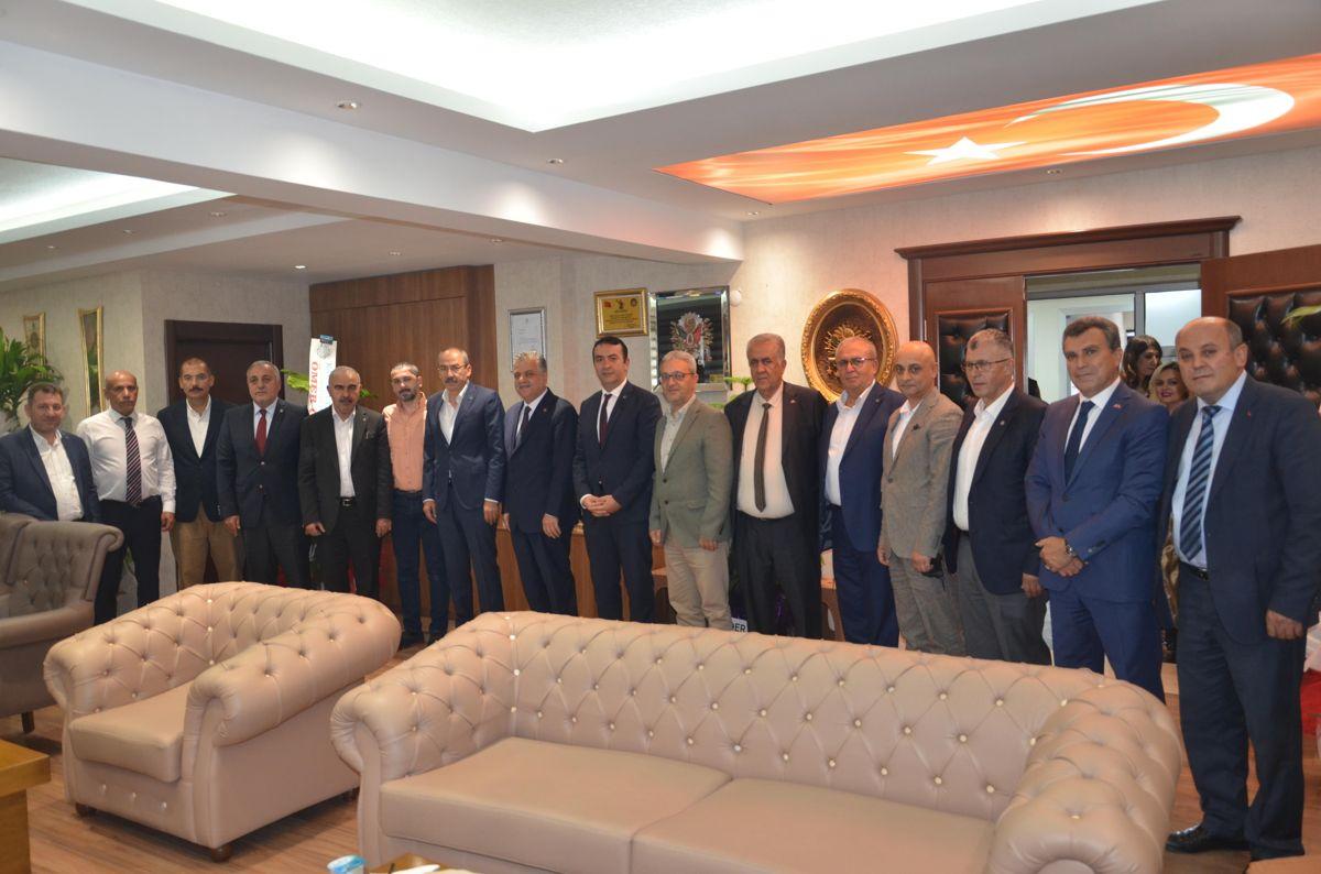 KTO yönetiminden MHP İl Başkanı İncetoprak'a ziyaret