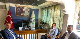 İskender Yıldırım: Rektör Turgut'dan Başkan Yıldırım'a ziyaret