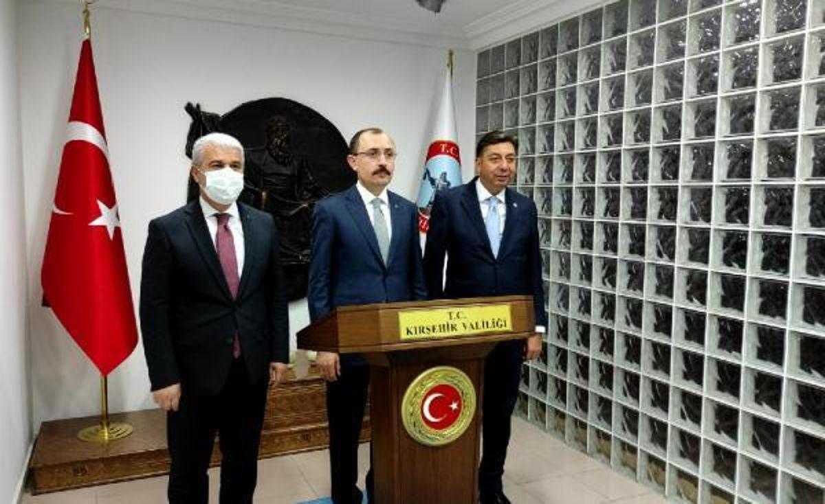Ticaret Bakanı Muş, Kırşehir'de